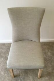 Pair of Dining Chairs - Could also be used as decorative chairs