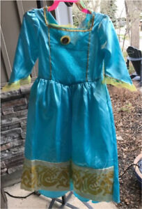 Merida halloween dress from Brave