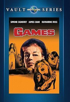 Games 1967 (DVD) Simone Signoret, James Caan, Katharine Ross - New!