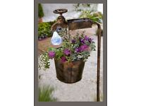 Solar Tap With Bucket Planter - Brand new in box