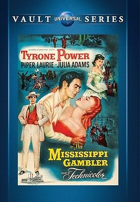 The Mississippi Gambler 1953  Dvd  Tyrone Power  Piper Laurie  Julie Adams   New