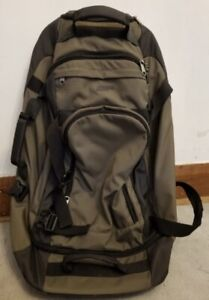 Great Condition MEC Rolling Duffle Bag Backpack