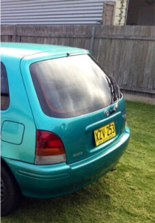 Toyota starlet boot and bumper  Edgeworth Lake Macquarie Area Preview
