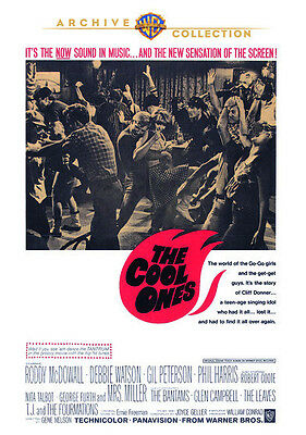 The Cool Ones 1967 (DVD) Roddy McDowall, Debbie Watson, Glen Campbell - New!
