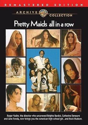 Pretty Maids All in a Row 1971 (DVD) Rock Hudson, Angie Dickinson -