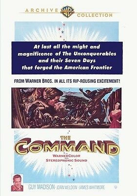 The Command 1954 (DVD) Guy Madison, James Whitmore, Joan Weldon - New!