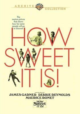How Sweet It Is 1968  Dvd  James Garner  Debbie Reynolds  Maurice Ronet   New