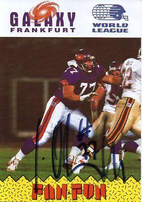 Autogramm - Gerald Olszewski (American Football)