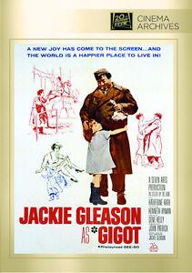 Gigot DVD 1962 starring Jackie Gleason Katherine Kath (MOD)