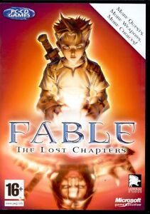 Fable The Lost Chapters for PC SEALED NEW
