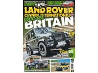 LAND ROVER MAGAZINE COLLECTION