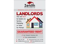 LANDLORDS !! - PROPERTIES WANTED - GUARANTEED RENT !!