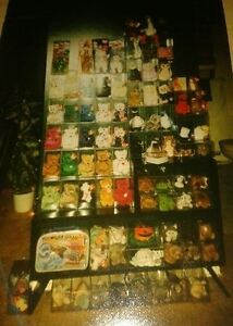 BEANIE BABIES ALL in soft cases with tag protectors. Kitchener / Waterloo Kitchener Area image 4