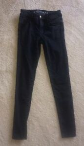 Size 0 black American Eagle jeans Kawartha Lakes Peterborough Area image 1