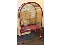 Large Parrot Cage with Open Top – excellent condition