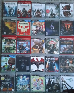 PS3 Games For Sale (15 each)