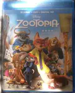 Zootopia Blu-ray & DVD - No Digital copy