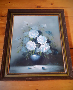 Framed Oil Canvas Painting - Robert Cox