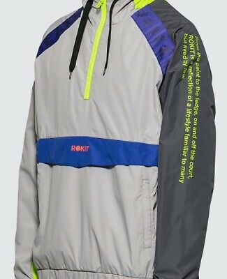 *Sold Out* Limit Edition Kappa Authentic Barna Rokit Mens Jacket Size XL
