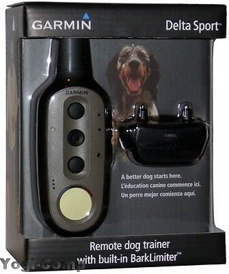 Garmin Delta Sport Remote Electronic Training Collar + BarkLimiter Bark Limiter