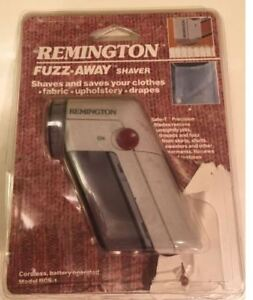 Vintage Remington Fuzz Away Fabric Shaver 1987 Rcs-1 Travel