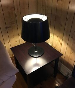 Floor Lamp with Two Table Lamps
