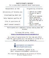 Participants Needed for Research Studay