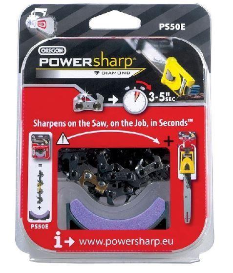 powersharp utiliser uniquement Oregon remplacement powersharp PS45E Tronçonneuse Chaîne /& Stone