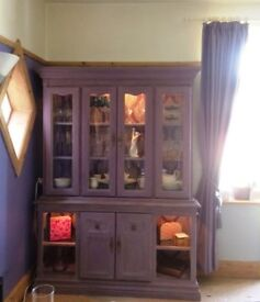 Shabby Chic Display Cabinet (No contents included)