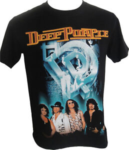 Deep-Purple-The-Band-Group-T-Shirt-Brand-New-with-Tags