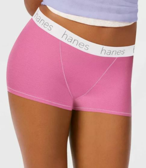 Hanes Women's Boyfriend Boxer Briefs W/ Comfort Flex Waistband 3 pack Clothing, Shoes & Accessories