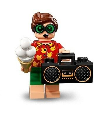 LEGO Batman Movie Series 2 MINIFIGURE VACATION ROBIN DICK GRAYSON SEALED 71020