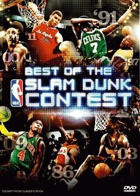 NBA: Best of the Slam Dunk Contest = NEW DVD