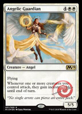 4 DAWNING ANGEL ~mtg NM-M M20 Magic 2020 Com x4