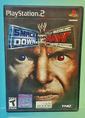 Used, Smackdown vs Raw Wrestling WWE PS2 Playstation 2 Game 1 Owner FLAWLESS Mint Disc for sale  Shipping to India