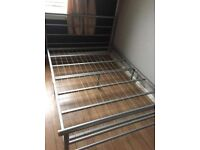 Metal bed frame for collection