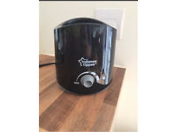 Tommee Tippee Bottle Warmer, Black FREE