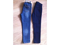 Lovely Girls Next Jeans - Very good condition - Age 5-6 years -