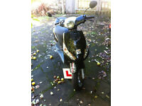 BLACK PIAGGIO MOPED GREAT CONDITION