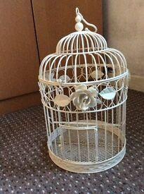 Ivory decorative bird cages