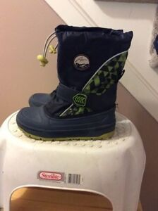 Boys boots size 1 from Sears