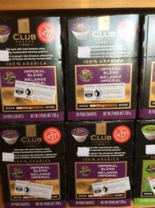Club Coffee Pods $12 for 20pk Kcups, K-Cups, Keurig