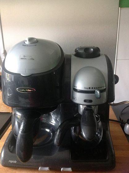 Morphy Richards 47490 Combination Coffee Make