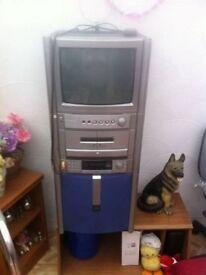 karaoke machine with tv
