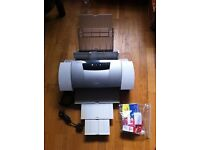 Canon i9100 A3 colour printer plus paper and ink