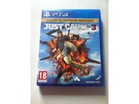 PS4 Just Cause 3 Game - Great Condition