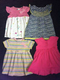 Baby girls summer bundle. 0-3 months. LIKE NEW