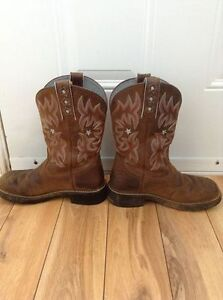 Ariat Fatbaby leather boots