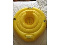 Baby / toddler swim seat inflatable