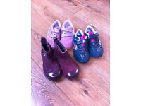 Girl's Clarks shoes 3 pairs for £5